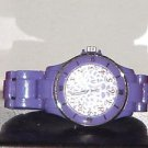 Pre Owned Girl's Purple Fashion Quartz Analog Watch