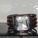 Pre-Owned Women's Geneva Silver Stainless Steel Band Fashion Quartz Analog Watch
