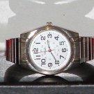 Pre-Owned Men's Details Silver Tone DTL3013 Analog Quartz Watch