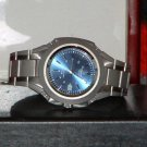 Pre-Owned Men's Silver & Blue Casio MTP 3050 Date Analog Watch