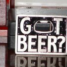 "Pre-Owned 1999 Bergamot ""Got Beer"" Bottle Opener Belt Buckle"