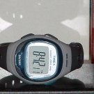 Pre-Owned Blue & Grey Timex T5k539 Heart Rate Monitor Digital Watch (Watch Only)