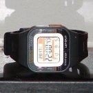 Pre-Owned Casio SDB-100 Black Runner Digital Watch