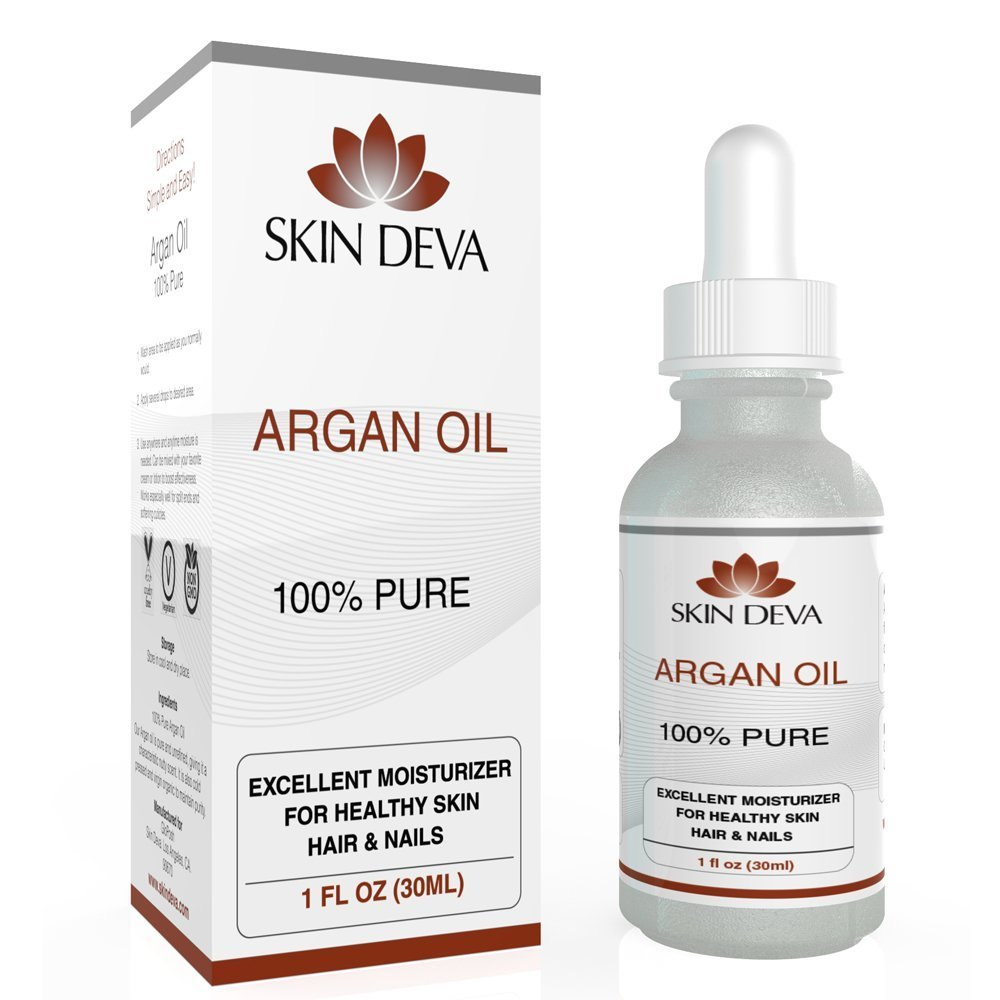 Argan Oil for Face - Hair & Nails - Organic 1 oz