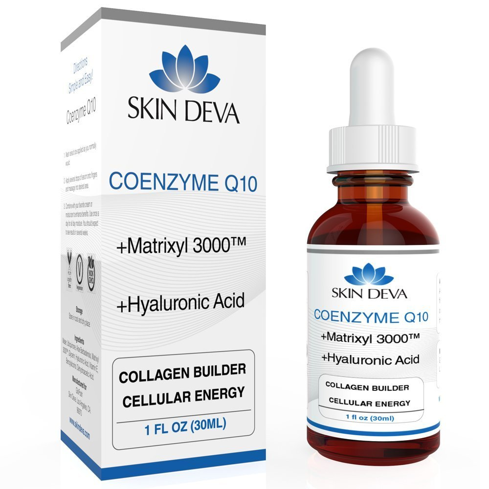 Coenzyme Q10 Serum with Hyaluronic Acid 1 oz