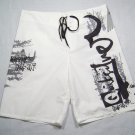 QUIKSILVER PAINT EDT SURF BOARD SHORTS/ waist 30 to 38/ (also sell BILLABONG, ONEILL, RIPCURL)