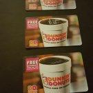 Dunkin Donuts gift card $75