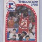 Michael Jordan 1989-90 NBA Hoops All-Star Game #21 Chicago Bulls