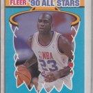Michael Jordan 1990-91 Fleer '90's All-Stars #5 of 12 Chicago Bulls