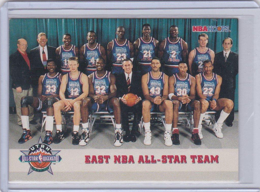 ea1eb80b441 1993 NBA Hoops East All-Star Team Utah All-Star Weekend #281