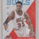 Scottie Pippen 2012-13 Panini Past & Present Basketball #89 Chicago Bulls
