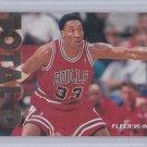 Scottie Pippen 1995-96 Fleer TOTAL D #9 of 12 Insert Chicago Bulls