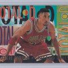Scottie Pippen 1994-95 Fleer TOTAL D #7 of 10 Insert Chicago Bulls