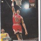 Scottie Pippen 1992-93 Fleer Ultra Basketball DUNK RANK 13 #213 Chicago Bulls