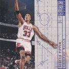 Scottie Pippen 1994-95 Upper Deck BluePrint For Success #375 Chicago Bulls