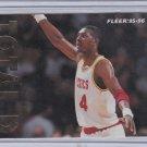 Hakeem Olajuwon 1995-96 Fleer TOTAL D #6 of 12 Insert Houston Rockets