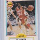 Hakeem Olajuwon 1990-91 Fleer Basketball #73 Houston Rockets