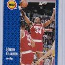 Hakeem Olajuwon 1991-92 Fleer Basketball #77 Houston Rockets