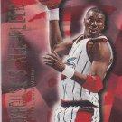 Hakeem Olajuwon 1996-97 Fleer Stackhouse's All-Fleer #8 of 12 Insert Houston Rockets