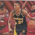 Hakeem Olajuwon 1994-95 Fleer Team Leaders #4 of 9 Insert Miller/Vaught Houston Rockets