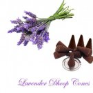 Lavender Dhoop Cones - 100 pcs by Sound Of Vedas