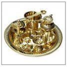 Puja Prayer Thali For Auspicious and Daily Rituals by Vedic Vaani