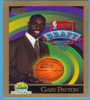 1990 Skybox Rookie card #365 Gary Payton