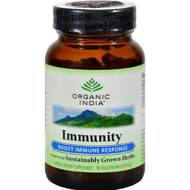 Organic India Immunity 60 Capsules