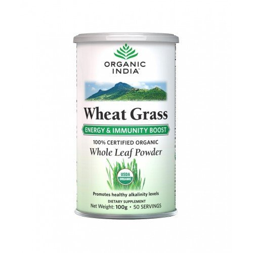 Organic India Wheat Grass 100gms