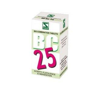 Bio Combination 25 for Acidity 40 gms - Schwabe Homeopathy