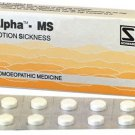 Alpha MS for Nausea 80 Tablets Schwabe Homeopathy