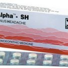 Alpha SH for Sinus 80 Tablets Schwabe Homeopathy