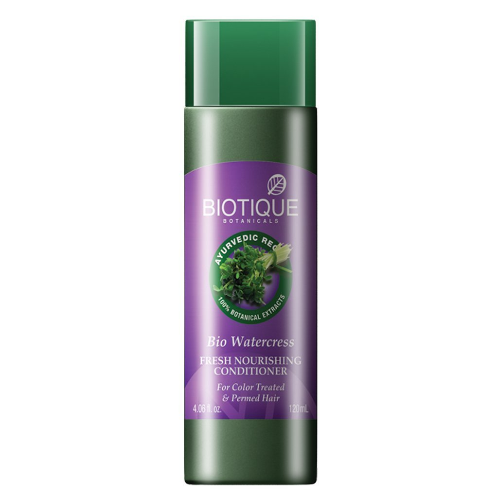 Biotique Bio Watercress Fresh Nourishing Conditioner, 120ml