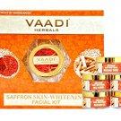 Vaadi Saffron Skin-Whitening Facial Kit With Sandalwood  270 gms