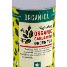 Green Tea Elaichi - Organica 100 gms