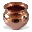Pooja Accessories Handmade Copper Lota Kalash