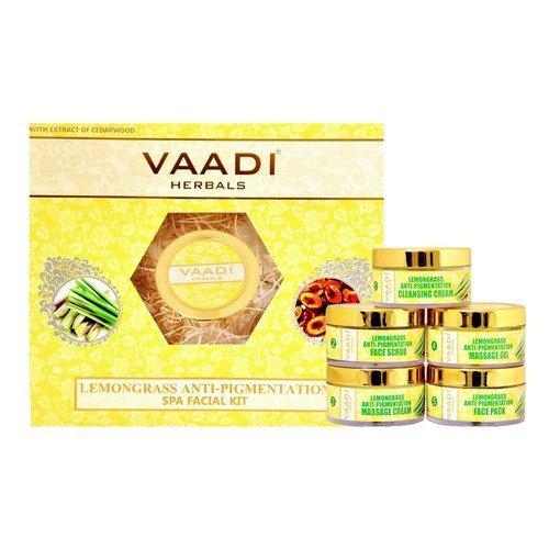 Lemongrass Anti-Pigmentation SPA Facial Kit With Cedarwood Extract 70 gms