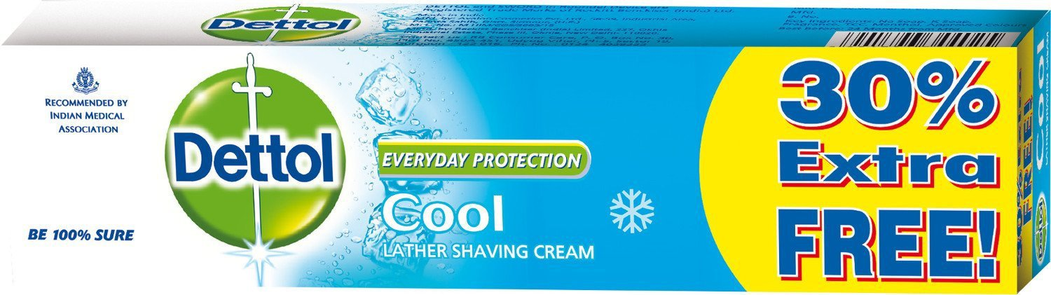 Dettol Cool Shaving Cream 150 gms