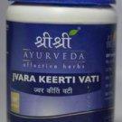 Jvara Keerti Vati 60 tabs  - SRI SRI Ayurveda
