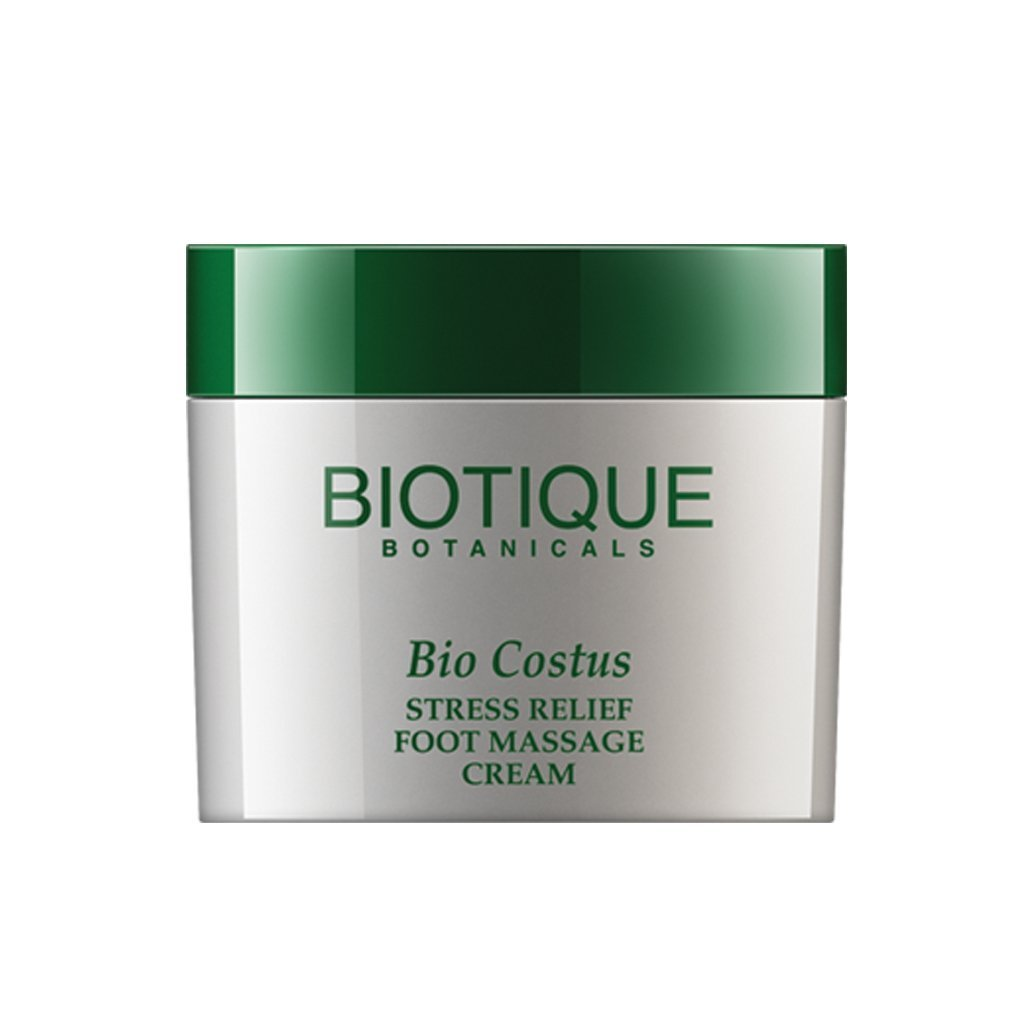 BIOTIQUE BIO COSTUS (STRESS RELIEF FOOT MASSAGE CREAM) 50GMS