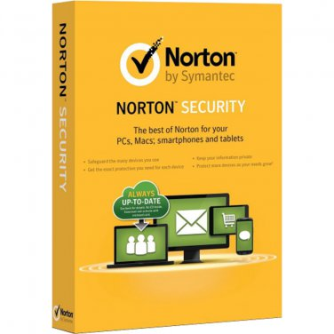 Norton Security Standard  1 Yr 1 Device PC/MAC/Android/iOS Download USA Canada MX Only
