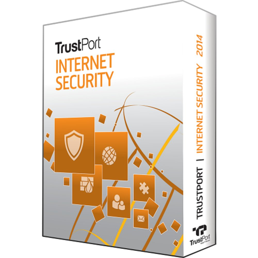 TrustPort Internet Security 1 Yr 1 Device Windows Only Download Worldwide Use