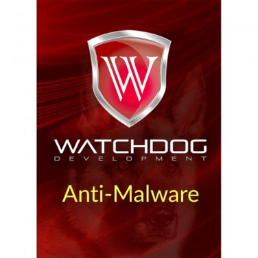 Watchdog Anti-Malware 1 Yr 3 Devices Windows Only Download Worldwide Use
