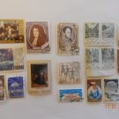 various rare stamps