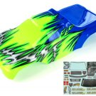 Redcat Racing 08704 1/8 Truck Body Blue and Green