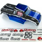 Redcat Racing 17003 Tremor ST Truck Body, Blue