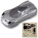 Redcat Racing BS205-040S Pagani Road Body, Silver
