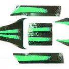 Redcat Racing 69566 Complete Mirage Body Kit, Green