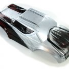 Redcat Racing R1103 Monster Truck Body, Silver Black, and Red