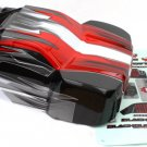 Redcat Racing BS215-002R SC Truck body (Red)  BS215-002R